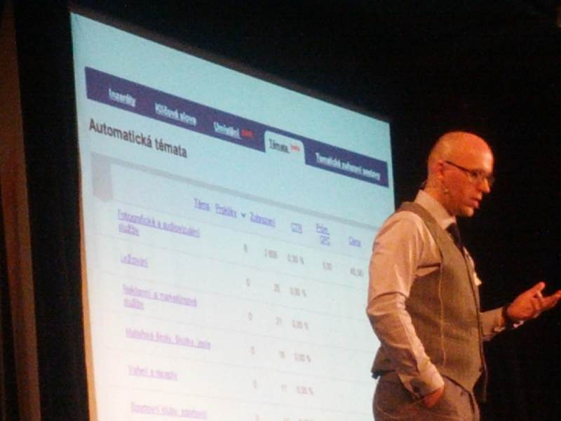 Náhled beta verze cílení na témata v obsahové síti Skliku